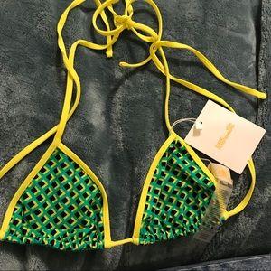 DVF double sided bikini top